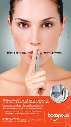 Silencio es lo que encontrarás en tus tratamientos odontológicos en #Bocanova