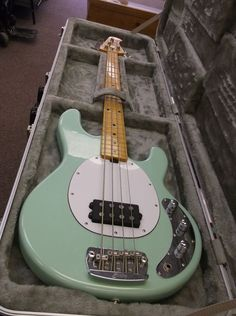 Sterling By MusicMan Ray34CA Mint Green Electric Bass Guitar #SterlingbyMusicMan