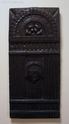 17th Century Oak Panel