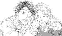 Haikyuu!! - Oikawa and Sugawara