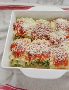 Way back when, in the practically prehistoric days of the Internet (I'm talking 2009 here), we ran a reader recipe contest. Quick Weeknight Meals gave us a nice collection of really memorable and delicious weeknight meals. Here's one of my personal favorites: Nicole's lasagna roll-ups, which boast the trifecta of being easy, quick, and rather good for you. Upon retesting, these pasta pinwheels turned out to be one of the easiest (and tastiest) dinners I've made all month, and given that…