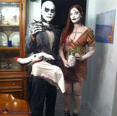 Jack and Sally - 2016 Halloween Costume Contest