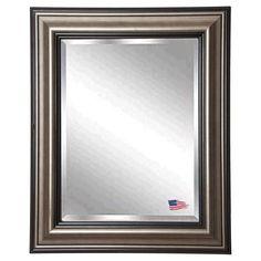 Rayne Mirrors Antique Black Wall Mirror - R028
