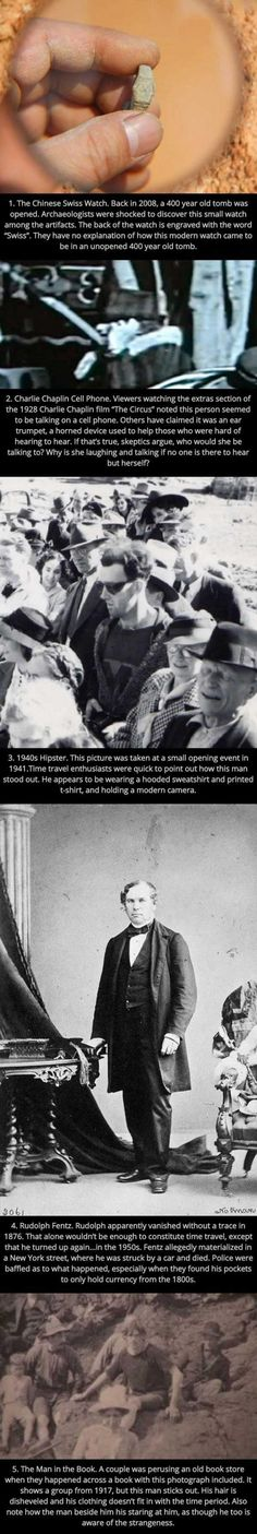5 Bizarre Pictures Which 'Prove' Time Travel Exists