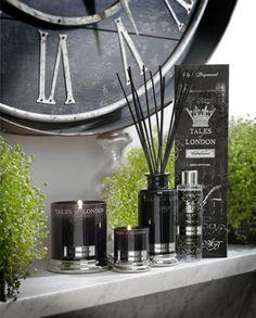 Ekskluzywna brytyjska kolekcja dyfuzorów i świec zapachowych Tales of London (www.aromanti.pl)