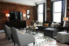 Stacie And Keebler William S Lux Loft In The Keller Building Downtown Knoxville Designed By Michelle
