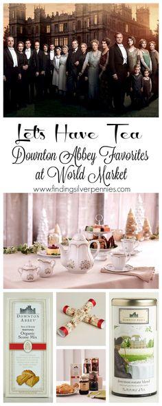 Downton Abbey Favorites #sponsored #worldmarkettribe #downtonabbey