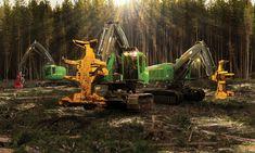 John Deere forestry business