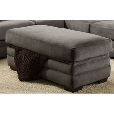 Chelsea Home Furniture Storage Ottoman - 183506-5981-SC