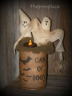 Primitive Halloween Decor by theprimplace on Etsy