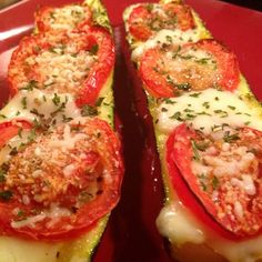 If you love French bread pizza, you have to try this Zucchini Pizza!