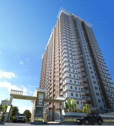 Sorrel Residences – a one-tower residential condo for sale along Sociego St., Sampaloc, Manila that features expansive open spaces, skyline views, resort-style amenities.