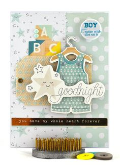 It's a baby boy so welcome the new bouncing baby boy into the world with this sweet baby boy card! #thecardkiosk