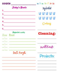 Printable Calendar May  Family Planner Home  Work  Play  Other