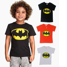 2016 Batman Fashion Cartoon Boys Tee Baby Boys T Shirts Children Short Sleeve T-shirts Tops Kids Boys Clothing #>=#>=#>=#>=#> Click on the pin to check out discount price, color, size, shipping, etc. Save and like it!