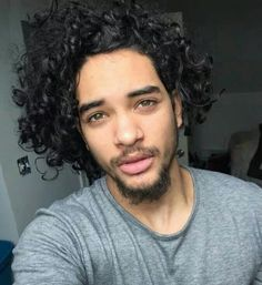 #curls #man #black