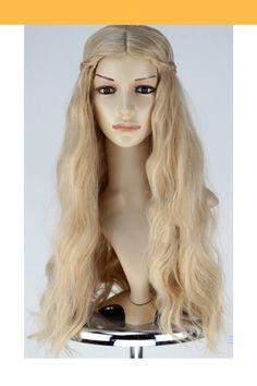 La Belle et la Bête Belle Princesse Perruque Cosplay Femmes Longs Cheveux Ondulé