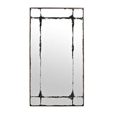 Make a statement in your entryway or bedroom with our Black Distressed Faux Paned Mirror! Place this mirror above your console table or dresser for added style. Cash Wrap Counter, Modern Mirror Design, Temporary Store, Distressed Mirror, How To Clean Mirrors, Window Mirror, Console Table, Frames On Wall, Cleaning Wipes
