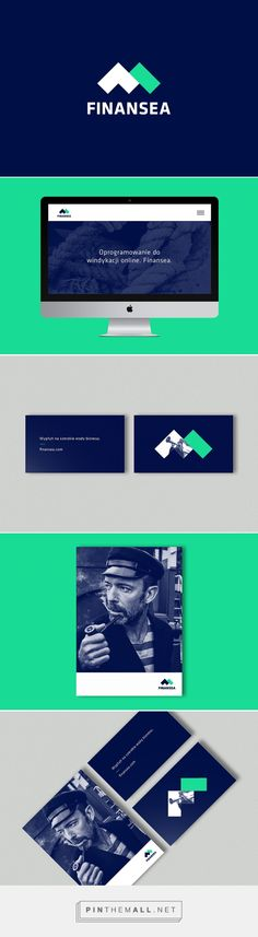 Finansea Branding on Behance | Fivestar Branding – Design and Branding Agency & Inspiration Gallery