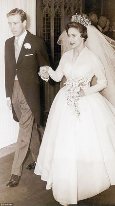 Princess Margaret went on to marry Lord Snowdon, formerly Anthony Armstrong-Jones, after her former lover announced his engagement to a 19-year-old Belgian woman