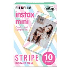 The cutest Japanese films designed for Instax Mini cameras. Includes your fave characters like Sanrio, Hello Kitty, Disney, Rilakkuma! SHOP with FREE SHIPPING >> http://www.eyecandys.com/fujifilm-instax-mini-90-neo-classic-instant-film-camera/