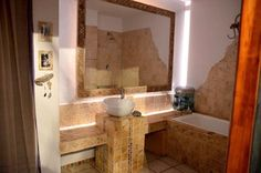 Creative Grupa Bathtub, Mirror, Bathroom, Furniture, Home Decor, Standing Bath, Washroom, Decoration Home, Room Decor