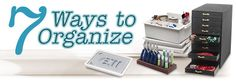 7 Ways to Organizeby Barbara van Look, Marketing Content Development Group, Exclusively for Fire Mountain Gems and Beads