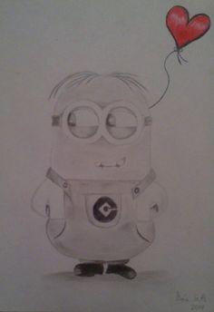 Mi dibujo de un minion