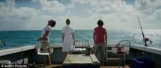 'Mauritius is kind of like paradise': Serenity was shot on a real boat off the coast of East African isle of Mauritius, which doubled as fictional Caribbean isle Plymouth Island Jason Clarke, Matthew Mcconaughey, Ex Husbands, Anne Hathaway, Mauritius, Plymouth, The Man, Serenity, Caribbean