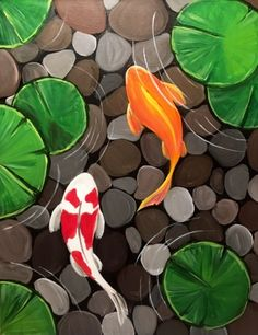 On June 23 at Colonia Publica, Diy Abschnitt, easy paintings On June 23 at Colonia Publica, Cute Canvas Paintings, Small Canvas Art, Mini Canvas Art, Simple Acrylic Paintings, Acrylic Painting Canvas, Easy Paintings, Paintings Of Fish, Acrylic Painting Animals, Landscape Paintings