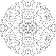 Image result for free mandala coloring pages
