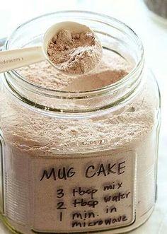 Choc. Cake in a Mug
