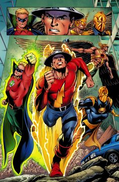 Convergence: Justice Society Of America #1