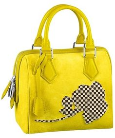 Louis Vuitton Speedy Cube Pm Flower Yellow Satchel. Save 22% on the Louis Vuitton Speedy Cube Pm Flower Yellow Satchel! This satchel is a top 10 member favorite on Tradesy. See how much you can save
