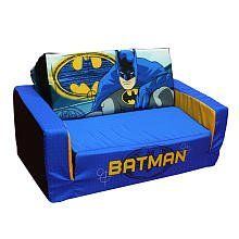 Warner Brothers Batman Foam Flip Sofa (Blue / Yellow / Grey) (10H x  sc 1 st  Pinterest : batman recliner - islam-shia.org