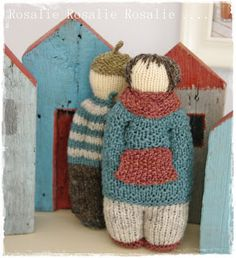 So good, the knit dolls of ∙∙ Rosalie's goals ∙∙ With quick directions! Round Loom Knitting, Circular Knitting Machine, Baby Knitting, Easter Crochet, Crochet Toys, Knit Crochet, Knitting Projects, Knitting Patterns, Crochet Patterns