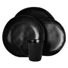 Me gustó este producto Basement Home Set de vajilla pizarra negro 24 piezas negro. ¡Lo quiero!