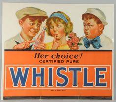 Whistle Cardboard ad