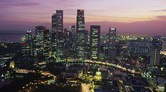 memory: hello nightlife! hello Merlion!  singapore