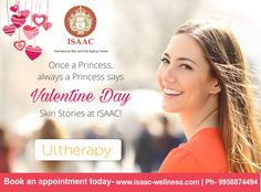 Once a Princess, always a Princess says Valentine Day Skin Stories at #ISAAC!  For more information, book an appointment today! #Ultherapy www.isaac-wellness.com | Ph- 9958874494
