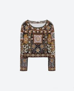 EMBROIDERED TOP-KEY PIECES | WOMAN / TRF-EDITORIALS | ZARA United States