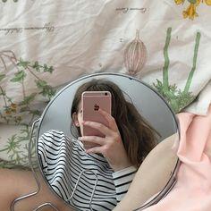 Art Hoe Aesthetic, Korean Aesthetic, Insta Feed Goals, Korean Girl Photo, Peach Wallpaper, Korean Photography, Instagram Girls, Korean Outfits, Aesthetic Pictures