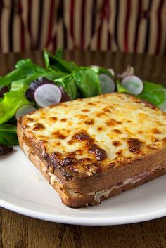 Croque Monsieur at the new Bosie Tea Palour in the West Village