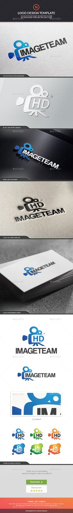 Image Team - Logo Design Template Vector #logotype Download it here: http://graphicriver.net/item/image-team/6210867?s_rank=14?ref=nexion