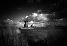 Kinderdijk - Black and White by Martin Jansen on 500px