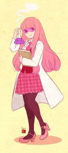 AT school AU- Princess Bubblegum