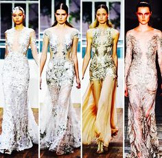 Magical, whimsical SS15 collection from Julien Macdonald at London Fashion Week