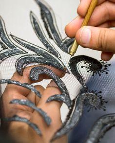 УНИКАЛЬНЫЕ вышивки | ноу-хау | Тони Уорд - Кутюр - Готовое платье - Люкс