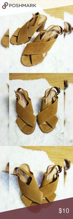 Torrid Casual Heels Torrid Casual Heels Condition: Used Lightly Worn 3 1/2 inch heel torrid Shoes Heels