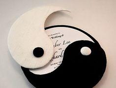 yin yang wedding invitations - Google Search